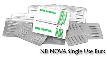 NB NOVA Single Use Burs